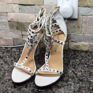 Penny Kenny zip up heels